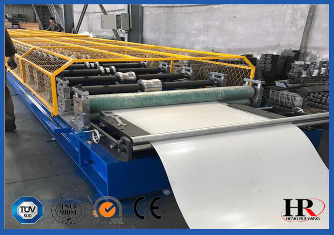 Glazed Molding Roof Roll Forming Machine / Concrete Wall Tile Making Machine With CE ISO Certificate