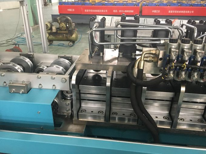Light Frame Steel House Keel Roll Forming Machine PLC Control