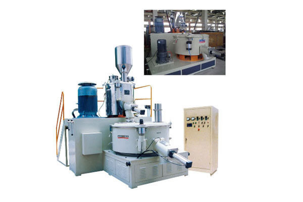 PLC SRL - W Series Hot Cool Cold Combination Mixer For Plastic Rubber , Low Noise